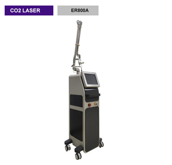 40w Co2 Fractional Laser Equipment / Commercial Vaginal Tightening Equipment - ER800A