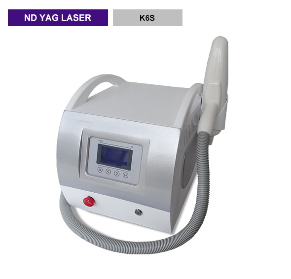 Q-switch nd yag laser 1064nm532nm 1320nm  laser tattoo removal K6S