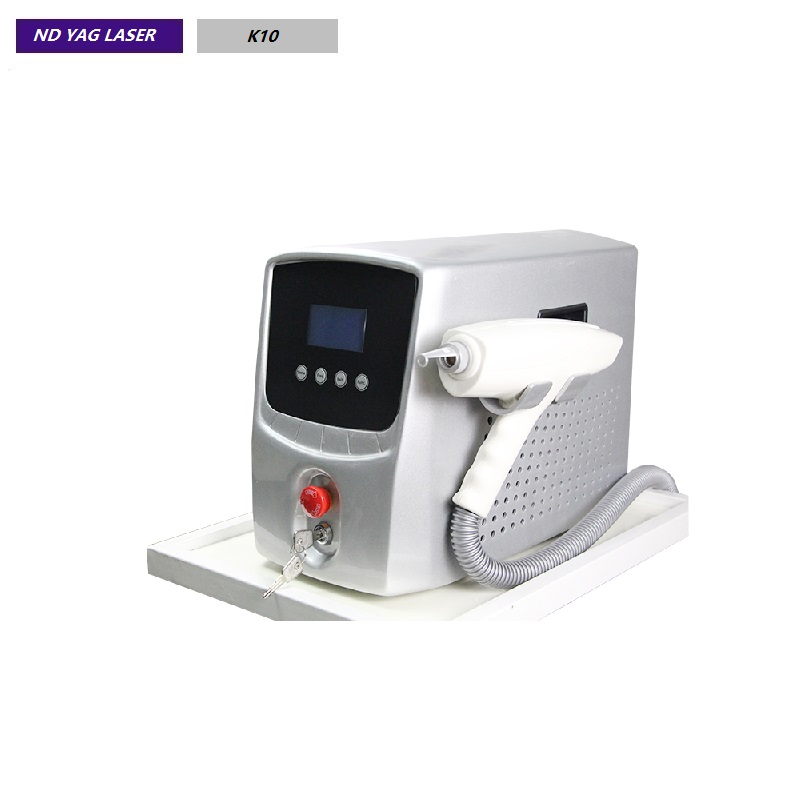 1064 nm 532nm Q Switch Nd: yag laser Tattoo Removal  K10