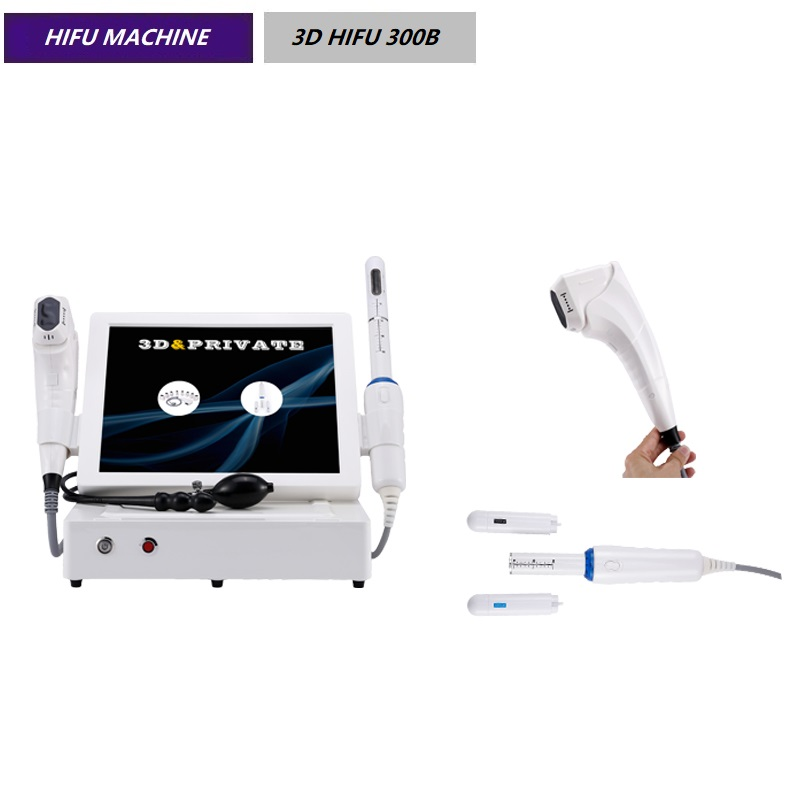 Approvred vaginal tightening facial lifting wrinkle removal 3d HIFU beauty equipment 3D HIFU 300B