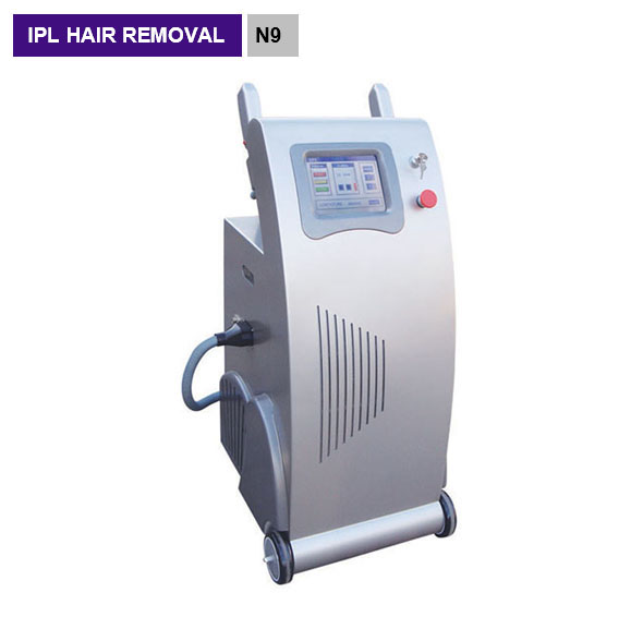 Double SHR handle fast painless hair removal system freckle removal skin tightening ipl  Laser cosmetic machine N9