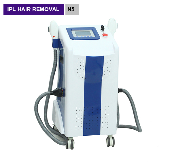 Elight IPL Permanent Hair Removal 2 Handle RF Skin Rejuvenation Beauty Machine N5B