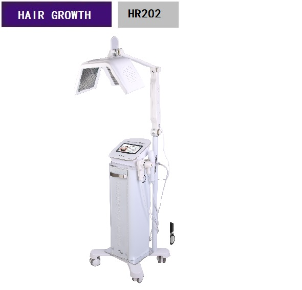 Safe High Frequency Hair Growth Stimulator Machine Laser Therapy Machine HR202