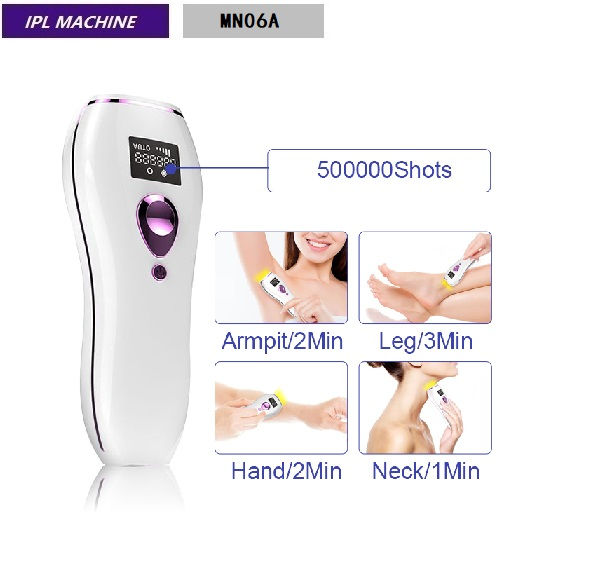 Dropshipping At Home Use 990000 Flash Perfassional Permanent IPL Epliator MN06A