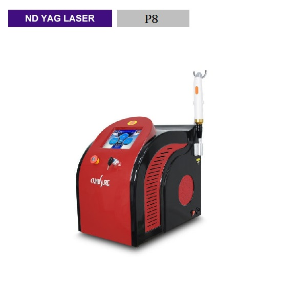 Red desktop picosecond laser 755NM small picosecond freckle removing tattoo instrument 1064nm 532nm wavelength laser
