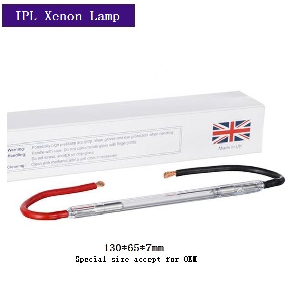UK First Light F981 IPL Xenon Lamp 7*65*130mm With Lead Wire