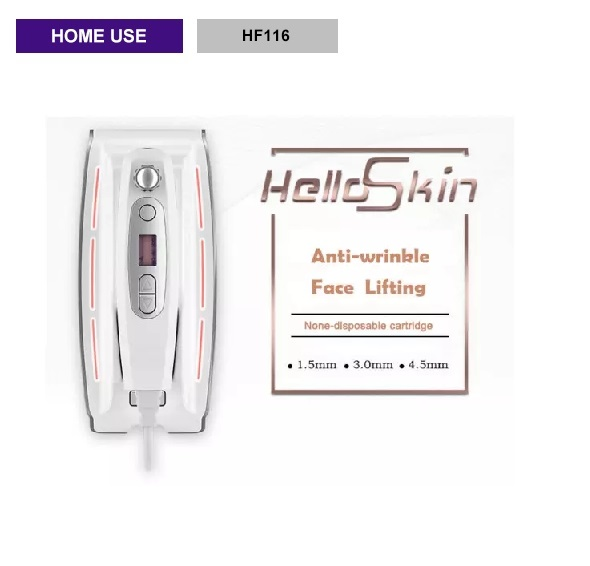 Mini hifu high intensity focused ultrasound facial lifting anti wrinkle machine - HF116